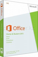 ПО Microsoft Office Home and Student 2013 Box (Rus)