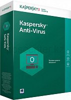 Антивирус Kaspersky Anti-Virus 2017 2-Desktop Renewal 1 year