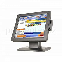 "15"" POS Terminal + MSR, ADVANPOS ZL-1556K Intel Atom D525 1.8 GHz/ 2Gb/ 320Gb/ 2 x COM/ 1 x LAN/ 4 x USB/ 1 x LPT/ MSR/ 15"" TouchScreen Display 1024x7"