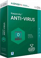 Антивирус Kaspersky Anti-Virus 2017 2-Desktop 1 year