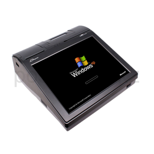 "15"" POS Terminal+MSR+ThermalPrinter 80mm +CustomerDisplay Zonerich ZQ-P1580, Intel D525 1.8GHz / DDR3 2Gb / 320Gb / 1 x Lan Gigabit, 4 x USB, 3 x COM,"