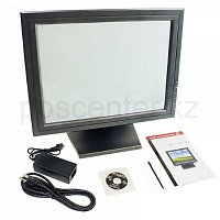 "15"" CTX PV5952T Touch Screen Display SXGA, 500:1, 300cdm2, 1024x768, 8ms, RS-232 (COM), VGA, стилус+салфетка арт. 1386"