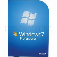 ПО операционная система Microsoft Windows 7 Professional (32/64-bit Russian BOX) DVD