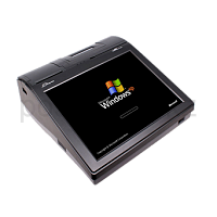 "10"" POS Terminal+MSR+ThermalPrinter 80mm +CustomerDisplay Zonerich ZQ-P1080, Intel D525 1.8GHz / DDR3 2Gb / 320Gb / 1 x Lan Gigabit, 4 x USB, 3 x COM,"