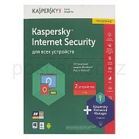 Антивирус Kaspersky Internet Security 2017. 2-Device 1 year Renewal